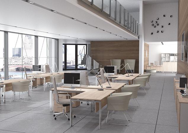 Mesas operativas - Espacios de trabajo