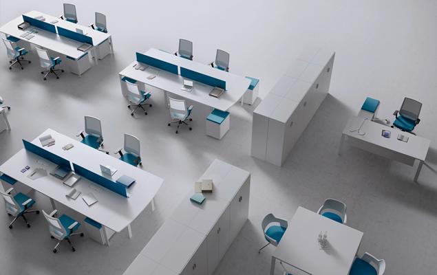 Muebles de oficina mesas de oficina y mobiliario de for Distribucion de oficinas modernas