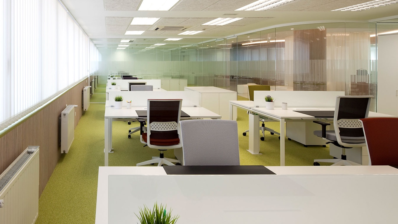 Mamparas De Oficina Equipamiento Integral De Oficinas ~ Mamparas De Cristal Para Separar Ambientes