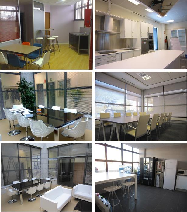 Espacios comunes en la oficina equipamiento integral de for Espacios de oficina