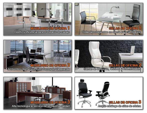 Cat logos de muebles de oficina equipamiento integral de - Muebles de oficina catalogo ...