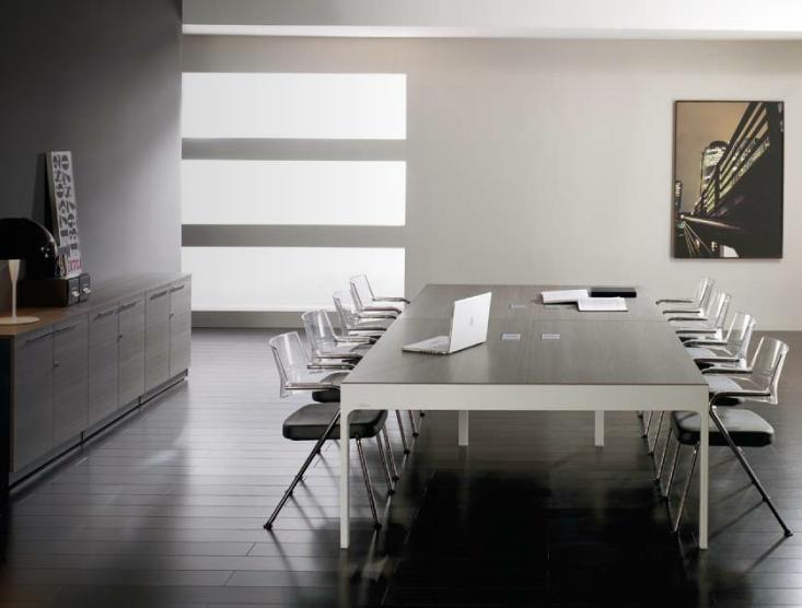 C mo decorar una gran oficina equipamiento integral de for Muebles de oficina lujosos