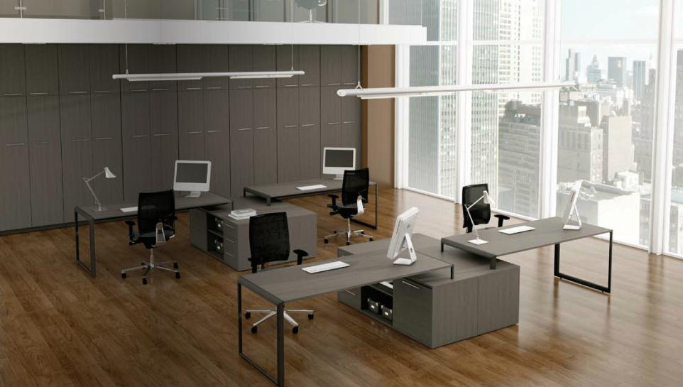C mo decorar una gran oficina equipamiento integral de for Lamparas de oficina