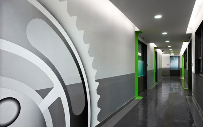 Inspiraci n oficinas creativas v equipamiento integral for Oficinas creativas pequenas