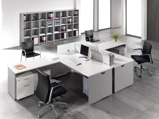Mesas de oficina ofimat cuando la calidad y el precio van for Distribucion oficinas pequenas