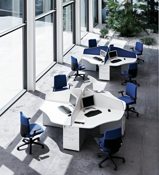 Mesas de oficina ofimat cuando la calidad y el precio van for Mobiliario de oficina economico