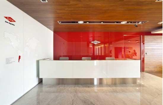 Recepciones de oficina y vest bulos que inspiran eqin for Recepciones modernas para oficinas