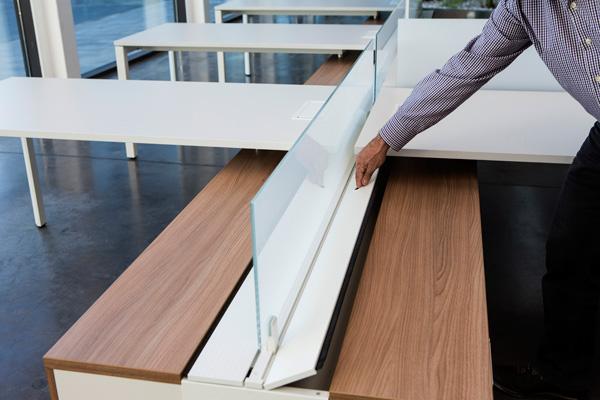 Mesas de oficina Vital Plus Spine: Una original y destacada ...