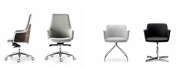 Cuore: Las sillas de oficina más envolventes - EQIN Estudio ...