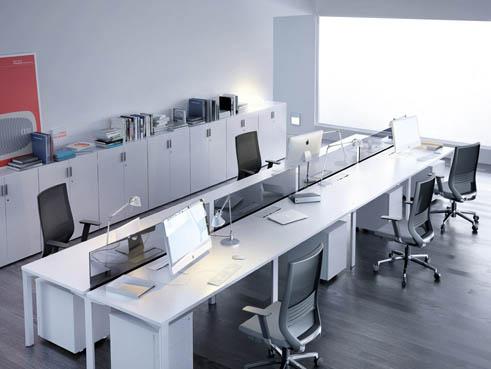 Mesas De Oficina Logos Un Modelo único Para Espacios