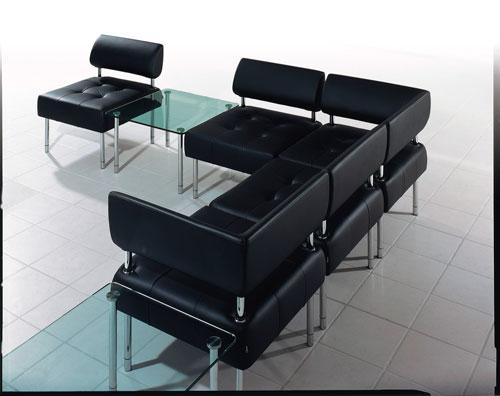 Salas de espera modernas para complementar la decoración de oficinas ...
