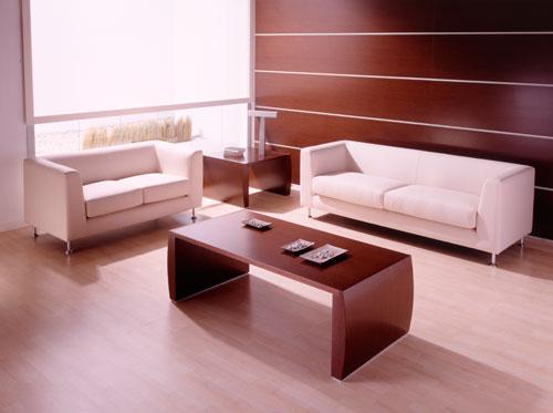 Salas de espera modernas para complementar la decoraci n for Sillones para oficina modernos
