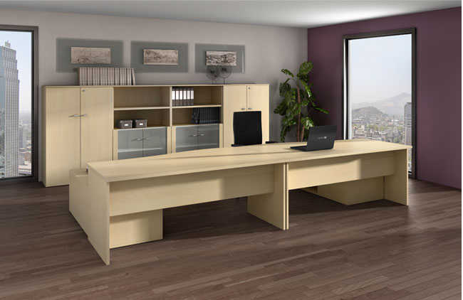 Mesas de oficina Color, una alternativa económica que garantiza una ...