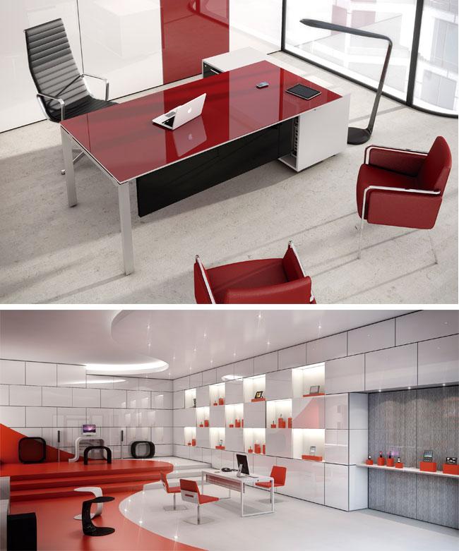 Muebles De Ofina : Mobiliario de oficina luxe el color y diseño en su