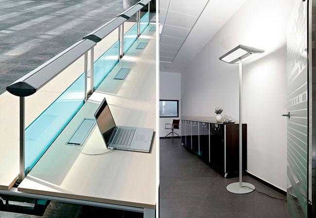 Incremente la iluminaci n en las mesas de su oficina for Iluminacion para porches