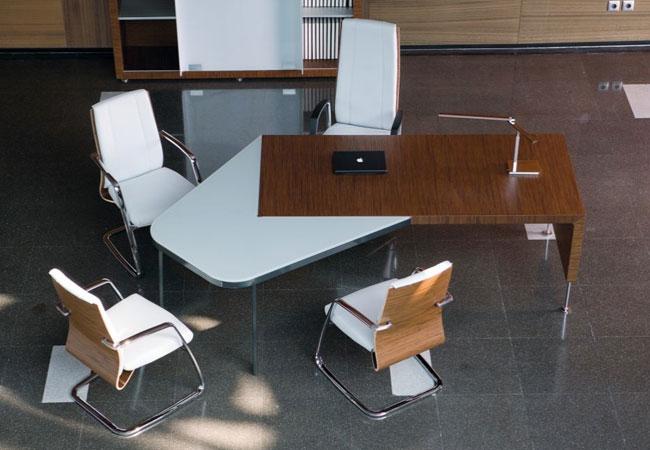 Mesas de oficina de diseo finest foto with mesas de oficina de diseo awesome hanamaru designs - Decorar despacho profesional ...