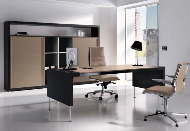 La mesa de oficina prima sinfon a es la preferida para los for Oficinas elegantes y modernas