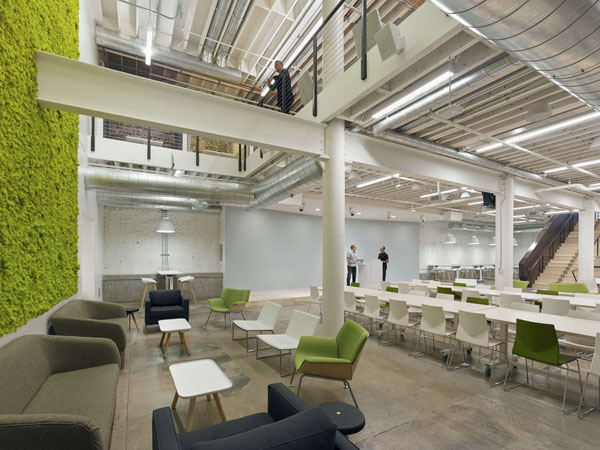 Cinco tendencias en decoraci n de oficinas en 2015 eqin for Best industrial design companies