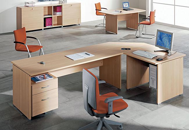 mesas de oficina optima un mobiliario operativo sencillo