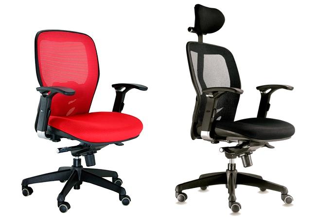 Dos opciones de sillas de oficina ergon micas para cuidar la salud de tu espalda eqin estudio - Sillas para la espalda ...