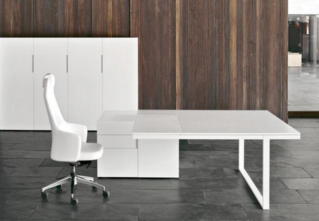 Mesa de oficina de diseño: 7 configuraciones con la misma mesa ...