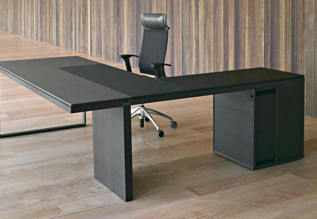 Mesa de oficina de diseño: 7 configuraciones con la misma ...