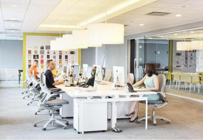 Ideas para la iluminaci n de oficinas espacios de trabajo - Lamparas de oficina ...
