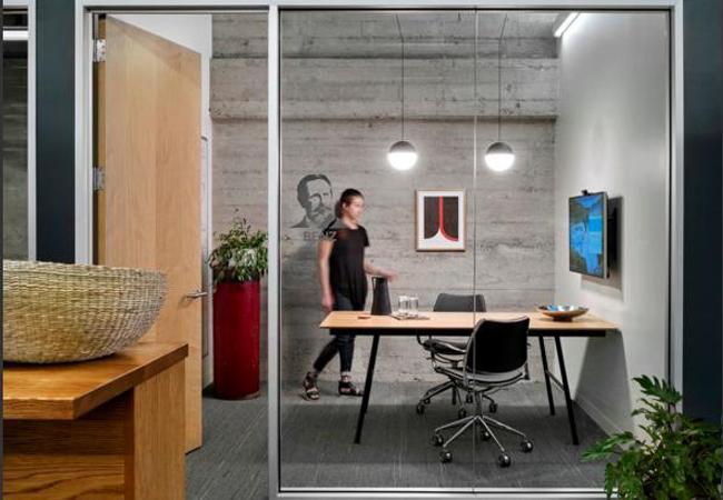 Tipos de mamparas de cristal para oficinas modernas listas - Tipos de mamparas ...
