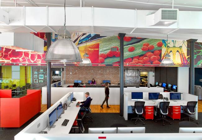 Espacio abierto oficina publicidad BGB Group