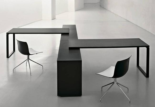 Consejos para elegir mesas de oficina funcionales y est ticas eqin estudio mobiliario y - Medidas mesa oficina ...