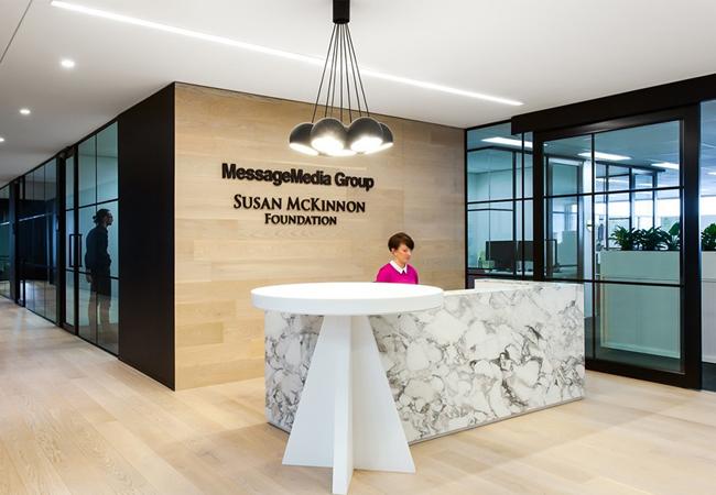 Recepciones de oficinas modernas porque la primera for Oficinas pequenas modernas en casa