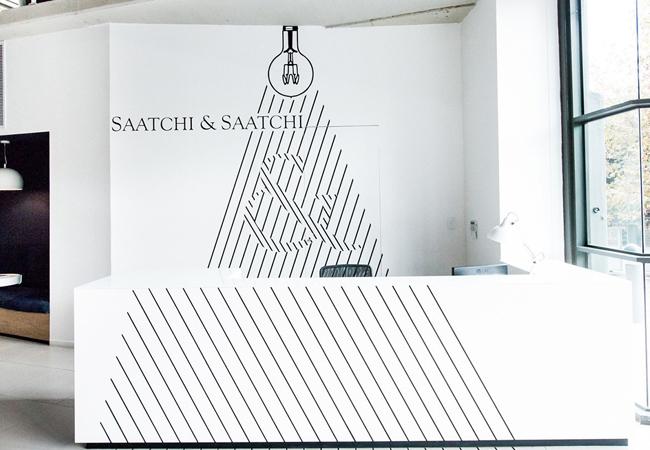 Recepción Agencia de publicidad Saatchi & Saatchi