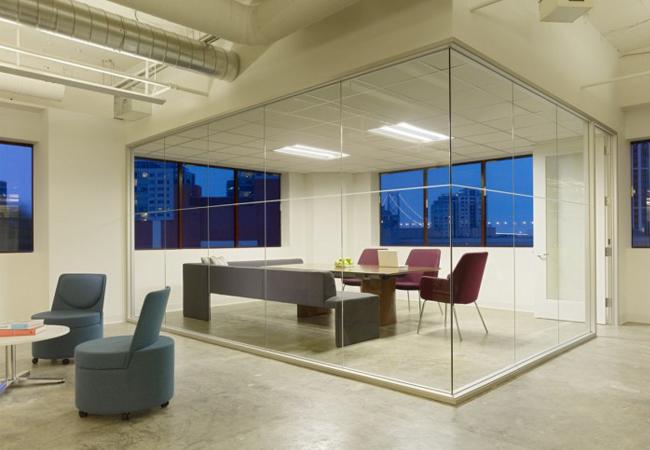Sala de reuniones agencia de publicidad Young & Rubicam