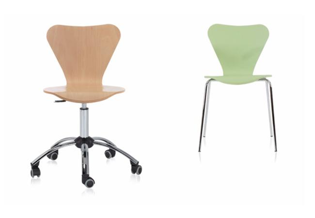 Selecci n de sillas de oficina polivalentes un modelo for Sillas comodas para trabajar