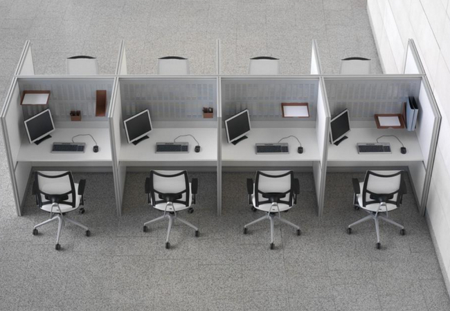 Claves para amueblar un call center y acertar for Muebles ergonomicos