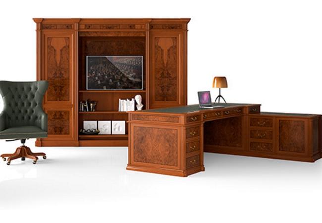 Mobiliario de oficina cl sico y con estilo equipamiento - Mobiliario y estilo ...