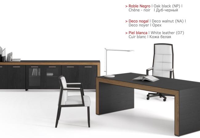 mesa de oficina belesa negra