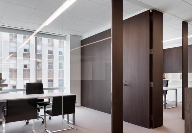 Muebles de oficina para abogados equipamiento integral for Mamparas oficina