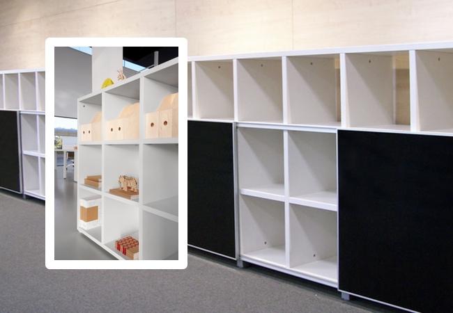 Muebles de archivo y almacenaje los grandes aliados de for Armarios para despachos