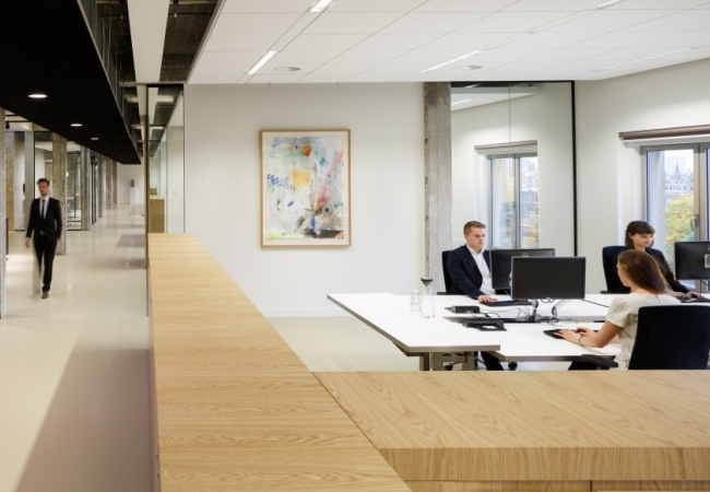 Ambientes sobrios y elegantes en la oficina equipamiento - Equipamiento integral de oficinas ...