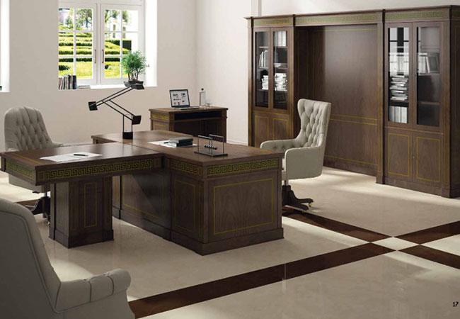 Muebles de oficina cl sicos ideales para despachos de abogados eqin estudio mobiliario y - Decoracion despacho en casa ...