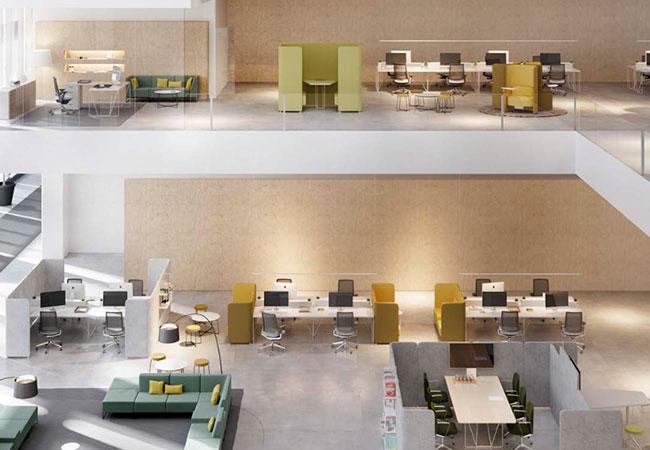 Let s espacios de trabajo para oficinas modernas for Mobiliario para oficinas modernas