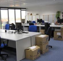 Mudanza y traslado de oficinas
