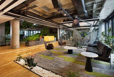 Como implantar el estilo boho en el diseño de su oficina
