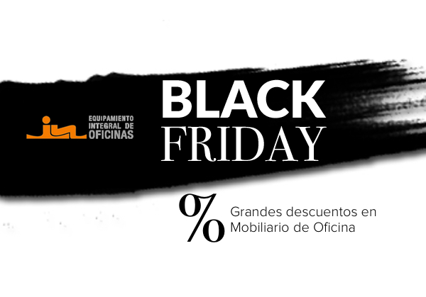 Black friday en equipamiento integral de oficinas eqin for Sillas oficina black friday