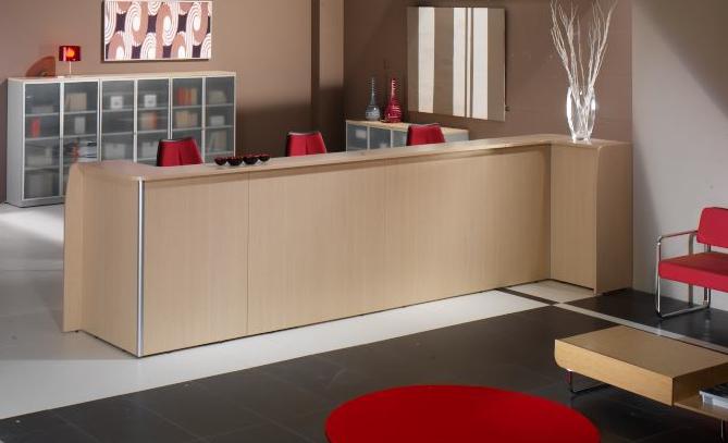 Muebles De Oficina Madrid : Recepciones de oficina su carta presentación eqin