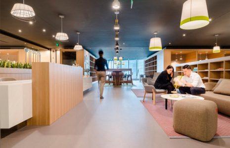 Analizamos el diseño de las oficinas de Coworking en la Torre de Shanghái