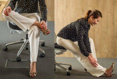 Postura correcta y ejercicios para evitar el dolor de espalda en la oficina