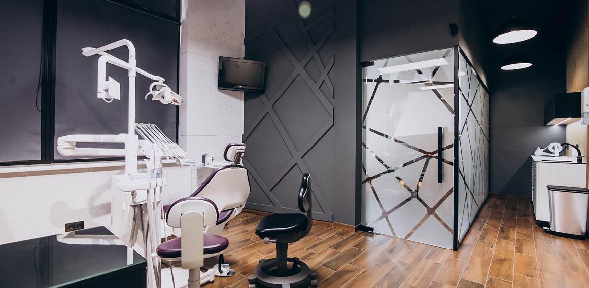 Imagen de iluminación de clínica dental
