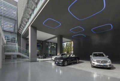 Diseño de oficinas Mercedes Benz Roma: Lo mejor o nada